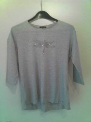 Graues Sweatshirt mit Libelle