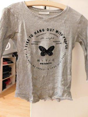 Graues Sweatshirt von Bershka