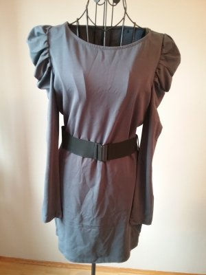 Edc Esprit Robe Sweat gris