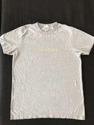 Graues T-Shirt Gr. M von Calvin Klein