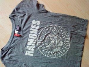 graues T-Shirt mit Aufdruck 38