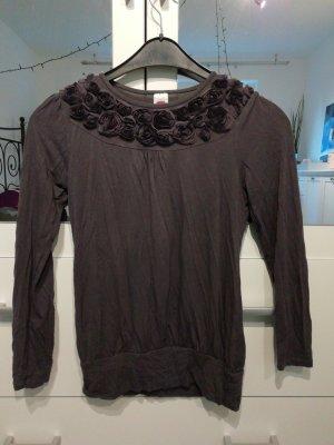 C&A Print Shirt grey lilac
