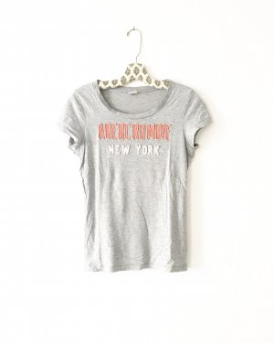 Abercrombie & Fitch T-Shirt light grey-dusky pink