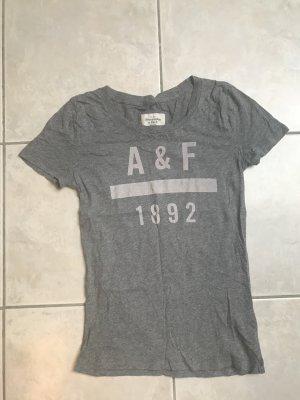Graues T-Shirt von A&F