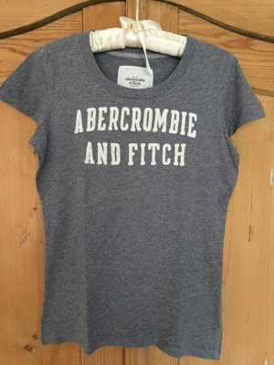 Graues T-Shirt von Abercrombie and Fitch