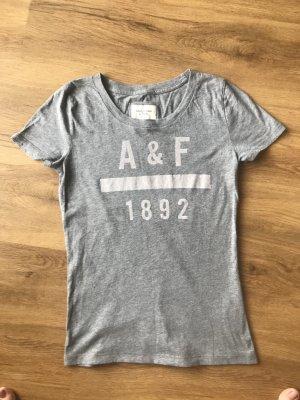 Graues T-Shirt von Abercrombie