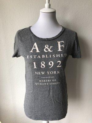 Graues T-Shirt von Abercrombie & Fitch