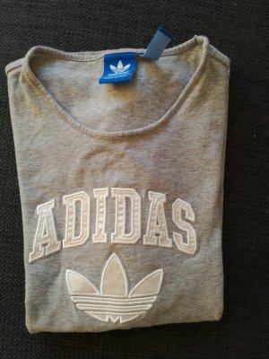 Graues T-Shirt von Adidas