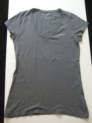 Graues T-Shirt von Converse