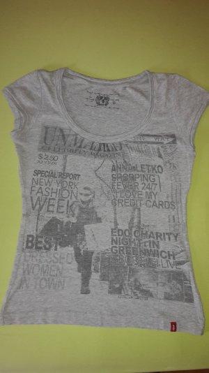 graues T-shirt von edc
