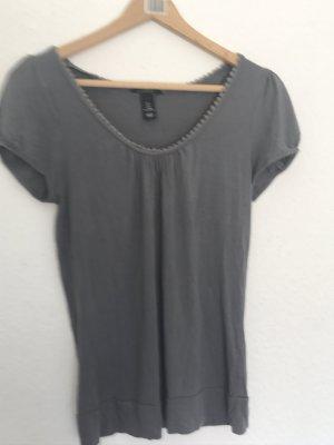 Graues T-Shirt von H&M