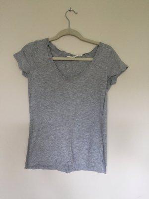 Graues T-Shirt von H&M in Größe 36