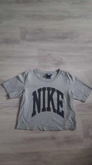 Graues T-Shirt von Nike