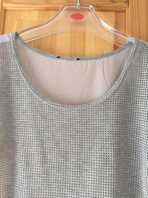 Graues T-Shirt von Opus in Größe XL