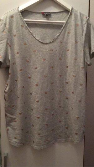 graues T-Shirt von Street one