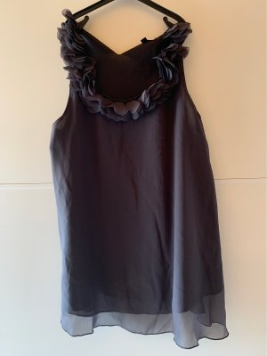 Ann Christine Blouse Top dark grey