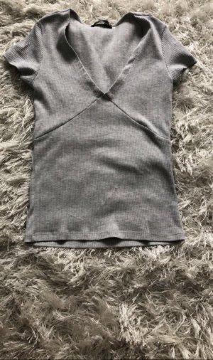 Graues Tshirt von Bershka