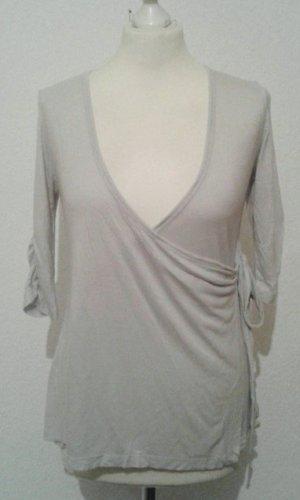 Zero Maglietta aderente grigio chiaro