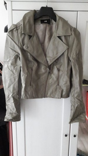 graugrüne kurze Jacke von H&m