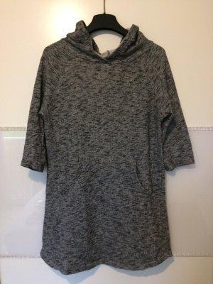 graumelierter Overzice-Pullover