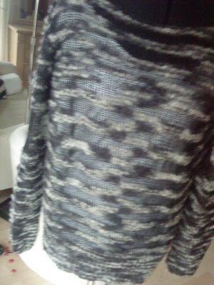 graumelierter Pullover 38/40