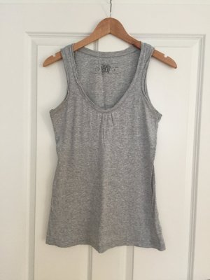 Esprit Muscle Shirt light grey cotton