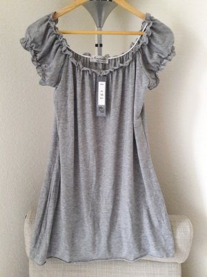 Carmen Shirt grey viscose