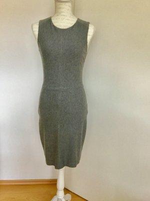 Graumeliertes Kleid Ärmellos Größe S