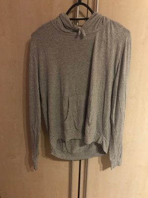 Brandy & Melville Hooded Shirt grey