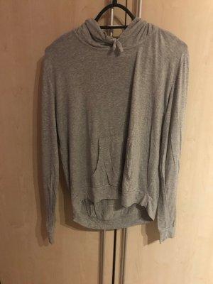 Brandy & Melville Camicia con cappuccio grigio