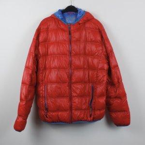 Down Jacket red-blue mixture fibre