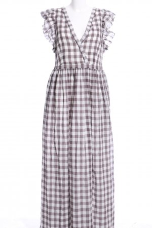 Great plains Maxi Dress brown-white casual look