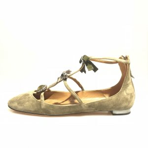 Green Aquazzura  Flat