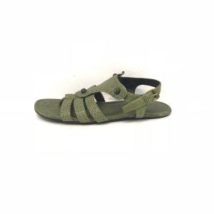 Balenciaga Sandals green