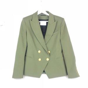 Green Balmain Blazer