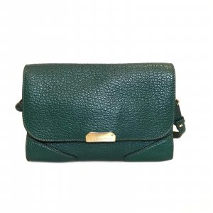 Green  Burberry Cross Body Bag