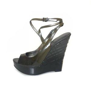 Burberry High-Heeled Sandals green