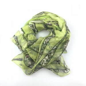 Green  Cartier Scarf