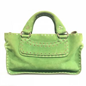 Green  Celine Shoulder Bag