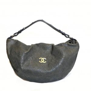 Green  Chanel Shoulder Bag