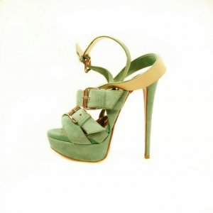 Green  Christian Louboutin High Heel