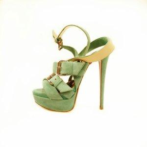 Christian Louboutin High-Heeled Sandals green