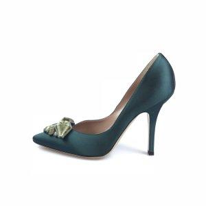 Green  Emporio Armani High Heel