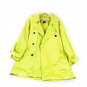 Green  Escada Trench Coat