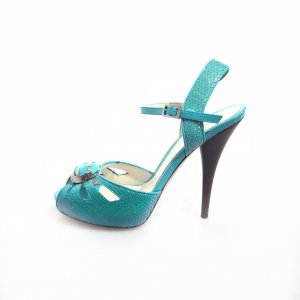 Fendi High-Heeled Sandals green