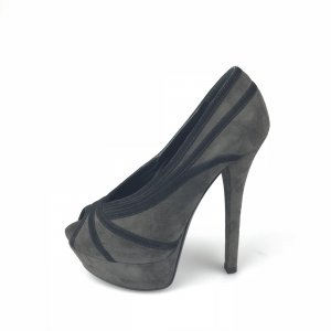 Fendi Platform High-Heeled Sandal khaki