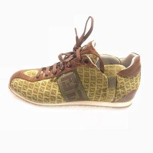 Green  Fendi Sneaker