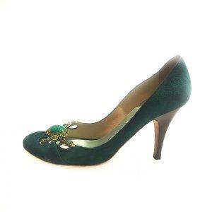 Green  Giuseppe Zanotti High Heel