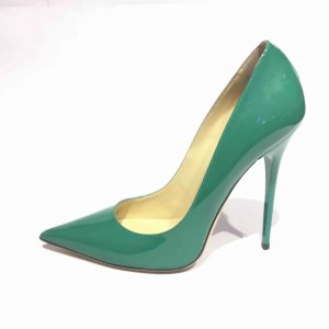 Jimmy Choo High-Heeled Sandals green