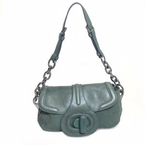 Green  Prada Shoulder Bag